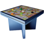 Eagle Range – Square Dining Table Printed Snakes Ladders